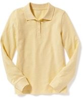 Old Navy Pique Uniform Polo for Girls