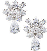 Kenneth Jay Lane Golconda By Cubic Zirconia Marquise Cluster Pear-Drop Earrings