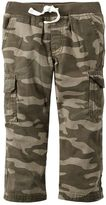 Carter's Boys 4-8 Camouflage Cargo Pants