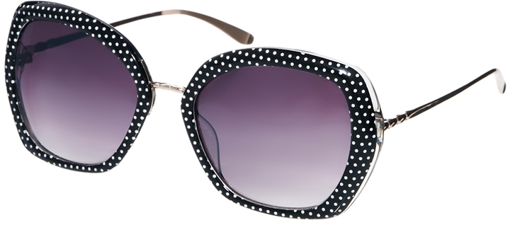 Jeepers Peepers Rectangular Sunglasses