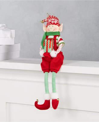 Holiday Lane Make Merry Elf Ornament