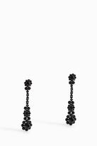 Simone Rocha Triple Flower Drop Earrings