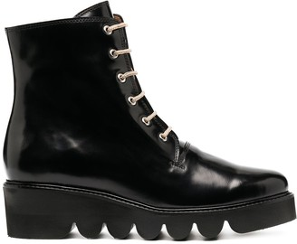 Nicole Saldaña Bauman cargo boots