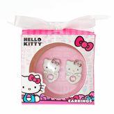 Hello Kitty Girls Stud Earrings