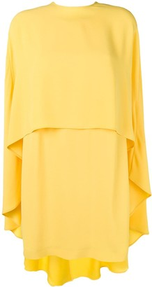 Sara Battaglia Cape Dress