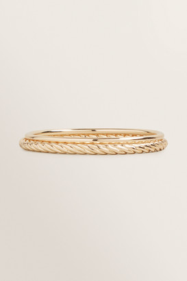 Seed Heritage Twist Gold Bangle Pack
