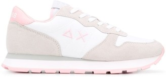 Sun 68 Lace-Up Low-Top Sneakers