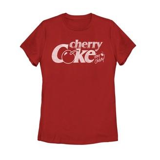 Juniors' Coca-Cola Cherry Coke Graphic Tee