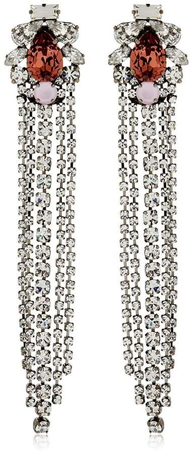 Giuseppe Zanotti Design Crystal Earrings