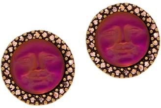 Kirks Folly 12.0mm Seaview Moon Stud Earrings