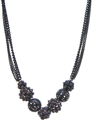 Simply Vera Vera Wang Filigree Cluster Statement Necklace