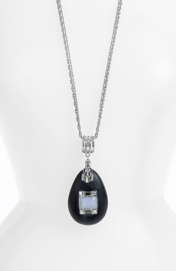 Alexis Bittar 'Deco' Large Pendant Necklace (Nordstrom Exclusive)