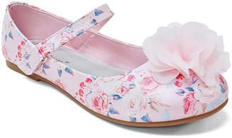 Jelly Beans Girls' Mary Janes PINK - Pink Vorana Flat - Girls