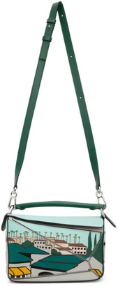 Loewe Green Ken Price LA Series City Edition Puzzle Bag