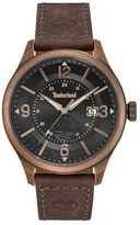 Timberland Blake Leather Strap Watch, 46Mm