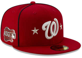 New Era Little Boys Washington Nationals 2019 All Star Game Patch 59FIFTY Fitted Cap