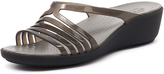 Crocs Isabella Mini Wedge Black/Smoke
