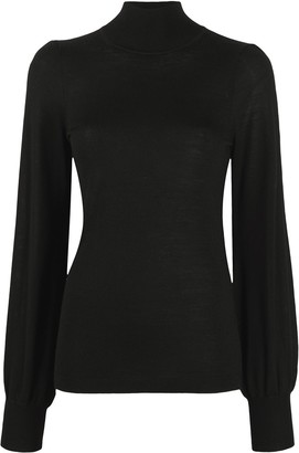 Zimmermann Blouson Sleeve Merino Wool Jumper