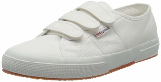 Superga Women's 2750-cot3velu Trainer Shoes - White (White) 4.5 UK