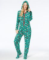 Hello Kitty Snuggle Up Printed Hooded Jumpsuit