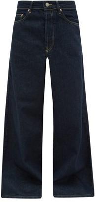 Raey Stride Wide-leg Jeans - Womens - Indigo