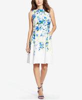 Lauren Ralph Lauren Petite Floral-Print Popover Dress