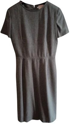 Ungaro Grey Wool Dress for Women