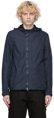 C.P. Company Navy Micro-M Goggle Overshirt Jacket