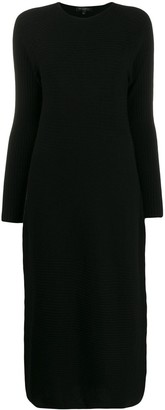 Antonelli knitted mid-length dress