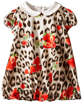 Roberto Cavalli All Over Print Collared Bubble Dress (Infant)