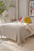 Urban Outfitters Stitched Jacquard Reversible Bed Blanket
