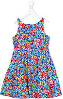 Polo Ralph Lauren floral print flared dress - kids - Cotton - 2 yrs
