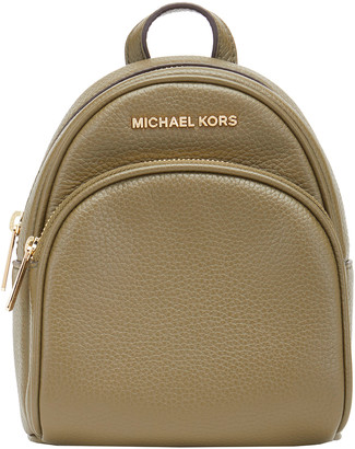 Michael Kors Crossbodies DUFFLE - Duffle Abbey Extra Small Mini Leather Backpack