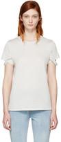 Helmut Lang - T-shirt blanc cassé Str