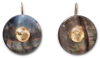 Lizzie Fortunato Taj Disc Earrings