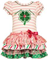Bonnie Jean Baby Girls Shamrock Princess St Patricks Dress 3-6 months