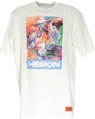 Heron Preston Graphic Printed T-Shirt