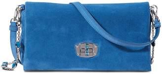 Miu Miu Leather Miu Crystal clutch