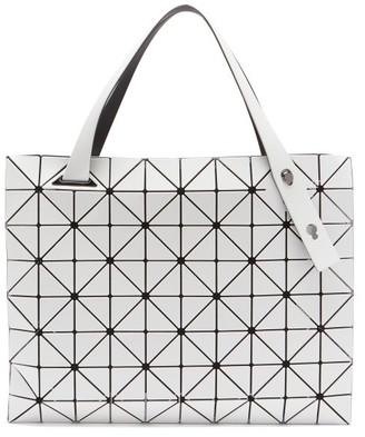 Bao Bao Issey Miyake Carton Rectangular Pvc Tote Bag - White