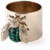 Joanna Buchanan Emerald Sparkle Bee Napkin Rings, Set of 2