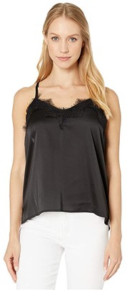 Bishop + Young Lace Detail Cami (Black) Women's Clothing