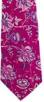 Turnbull & Asser Floral Jacquard Silk Tie