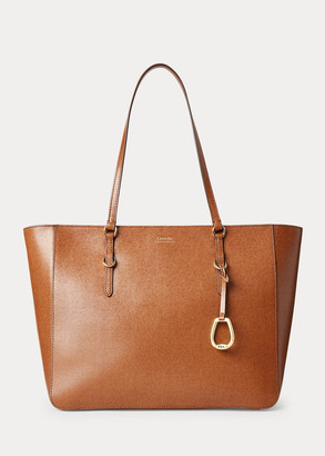 Ralph Lauren Saffiano Leather Shopper