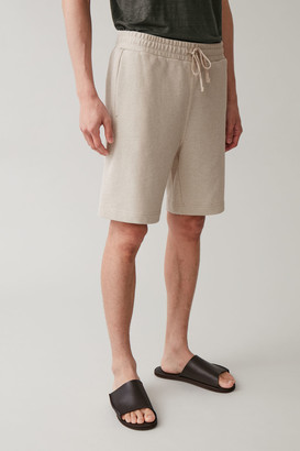 Cos Relaxed Cotton Mix Shorts