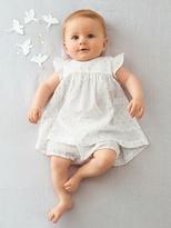 Vertbaudet Newborn Baby Embroidered Dress & Shorts