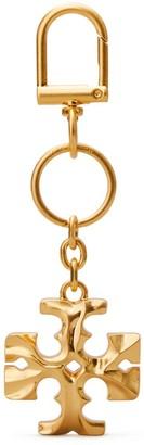 Tory Burch Carved Kira Key Ring