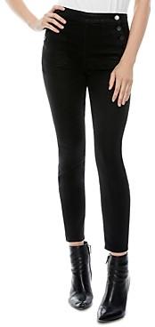 Alice + Olivia Donald High Waisted Skinny Jeans