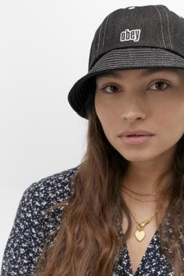 Obey Moore Bucket Hat - Black ALL at Urban Outfitters