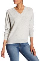 Vince V-Neck Cashmere Blend Sweater