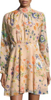 Lucca Couture Madeline Floral-Print Dress, Neutral Pattern